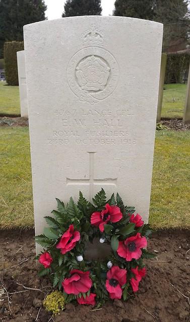 Photo:Ernest William Hall By Derby and Derbyshire War Memorials Project