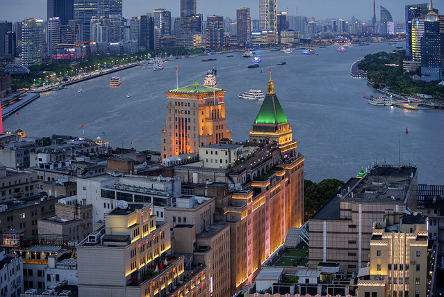 The Peace Hotel at the Bund