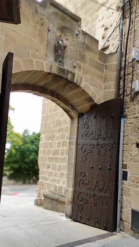 Laguardia, puerta de Santa Engracia