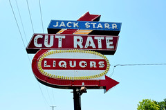 Texas, Fort Worth, Jack Starr Cut Rate Liquors