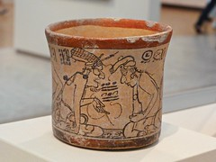 Vaso estilo códice. Kimbell Art Museum 🇺🇸