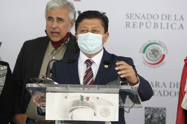 21/07/2021 Conferencia de prensa Dip. Rubén Cayetano García