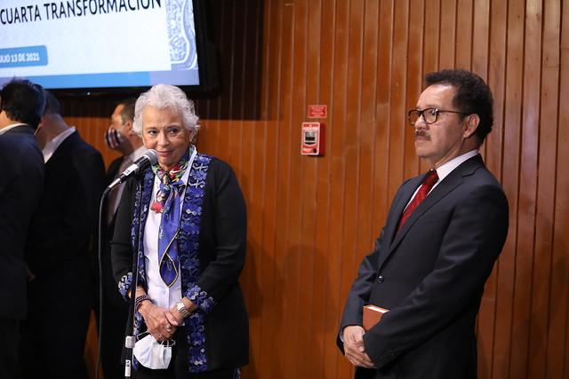 13/07/2021 Conferencia de Prensa Sria de Gobernación Olga Sánchez Cordero