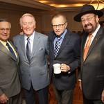 Jaime Jarrín, Vin Scully and Larry King
