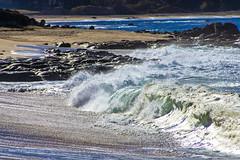 Carmel Monastery Beach Shore Break