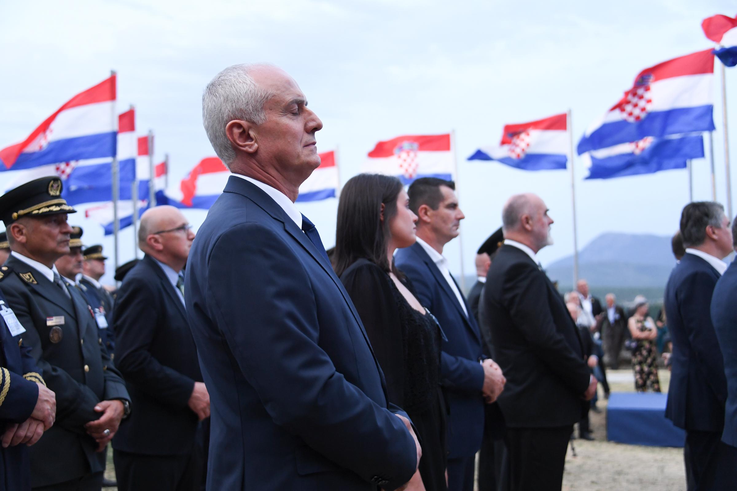 Prijem ratnih zapovjednika u povodu 26. obljetnice VRO Oluja