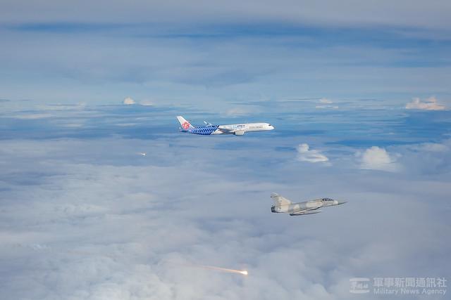 幻象戰機伴飛迎接奧運選手