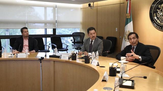 03/08/2021 Junta De Coordinación Política Con Roger lió Ramírez De La O