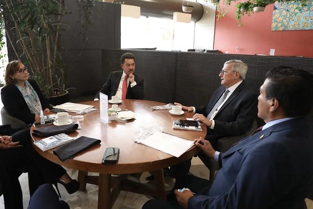 05/08/2021 Desayuno Con El Dr. José Ruíz Argüelles