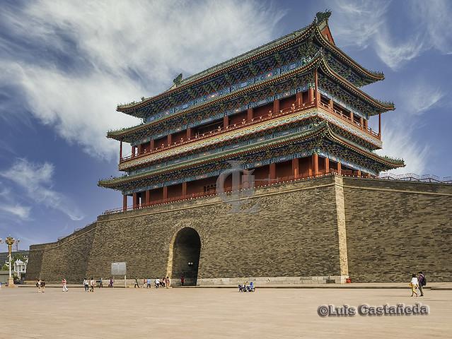 Qianmen Gate. Tiananmen Square. Beijing. China