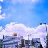 Photo:青空 bluesky sky 空 雲 cloud 夏 summer Toycamera トイカメラ フィルム film Lofi 埼玉県 Saitama 川口市 Kawaguchishi 西川口 Nishikawaguchi Japan 日本 ivvaDOTinfo ivva By ivva