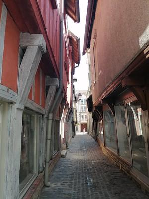 Doorkijkje in Troyes
