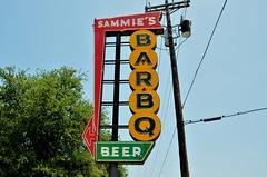 Texas, Fort Worth, Sammie's Bar-BQ,