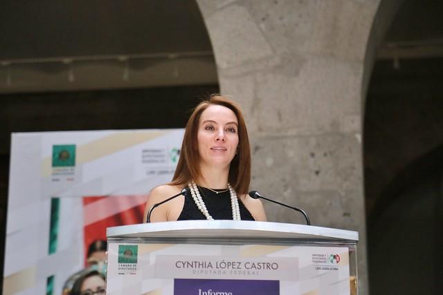 11/08/2021 Informe De Actividades Dip Cynthia López Castro