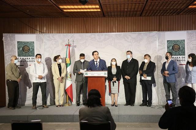 11/08/2021 Conferencia De Prensa Comisión De Ciencia Y Tecnología