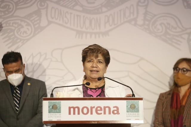 11/08/2021 Conferencia De Prensa Diputada María Eugenia Hernández