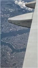 Window Seat, I / New York City from 35,000 feet