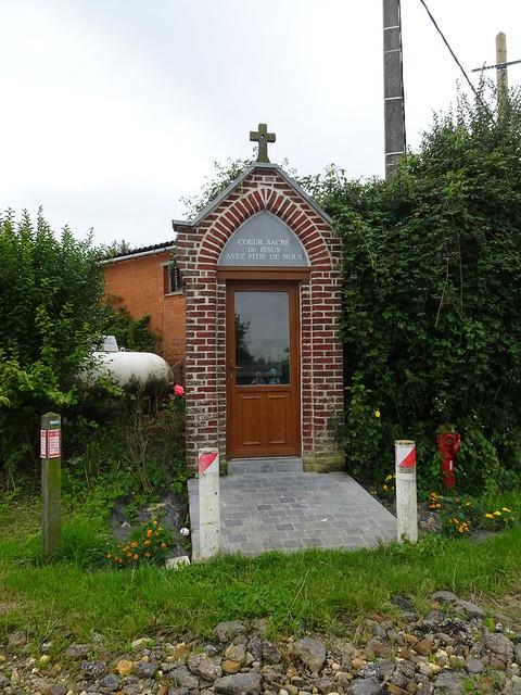 Photo:Chapelle Sacré-Cœur de Jésus, Berthen, chemin du rossignol By Pierre Andre Leclercq