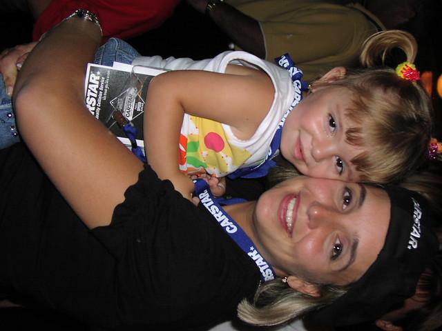 lisa mercanti and daughter