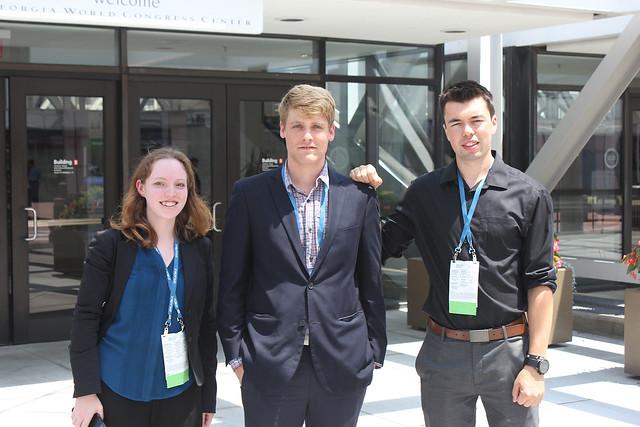 Michelle Miller, Gideon Scanlon and Jordan Arseneault from Media Matters