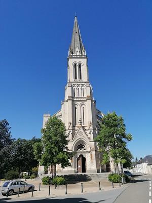 Kerkje in Chateau Gontier