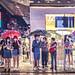 Rainy night at Tsim Sha Tsui, Hong Kong