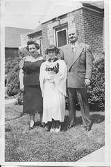 1945-06 LIZ CONFIRMATION AUNT MARG & UNCLE JACK