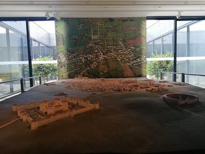 Model van de Romeinse nederzetting