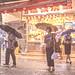 Rainy night at Wan Chai, Hong Kong