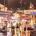 Rainy night at Yau Ma Tei Wholesale Fruit Market, Hong Kong