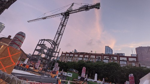 Construction, North St Lawrence Market, 2021 08 17