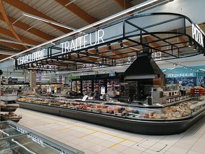 Grote supermarkt, altijd leuk