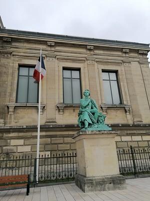 Standbeeld in Le Havre