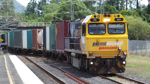 Goods Train at Cooroy