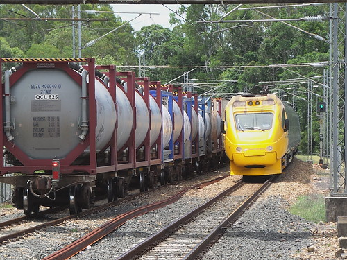 Electric Tilt Train at Cooroy