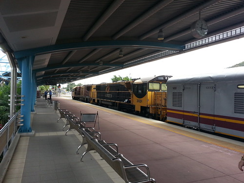 Sunlander at Townsville