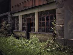Architecture abandonnée.