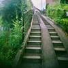 Photo:階段 stairway 手摺り handrail banister Toycamera トイカメラ フィルム film Lofi Japan 日本 千葉県 Chibaken 柏市 Kashiwa ivvaDOTinfo ivva By ivva