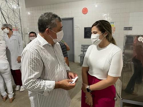 Visita ao Hospital Municipal de Palhano