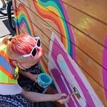 SITC 14 - painting Pride parklet
