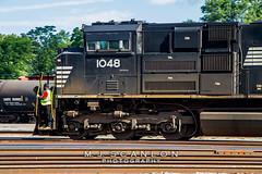 NS 1048   EMD SD70ACe   UP Sargent Yard