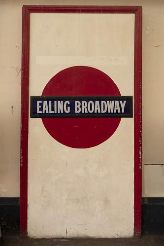Ealing Broadway Old Roundel