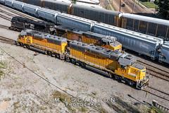 UP 1177   EMD GP60E   UP Sargent Yard