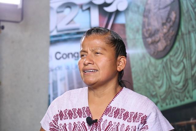 25/08/2021 Entrevista Con Canal Del Congreso Diputada Irma Juan Carlos