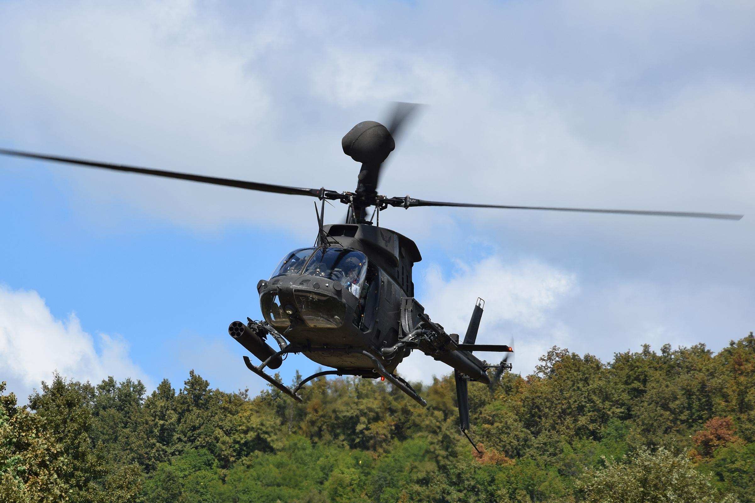 Provedena gađanja i raketiranja helikopterima Kiowa Warrior OH- 58D