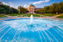 The Serenity of the Hoyt G. Kennemer Memorial Fountain