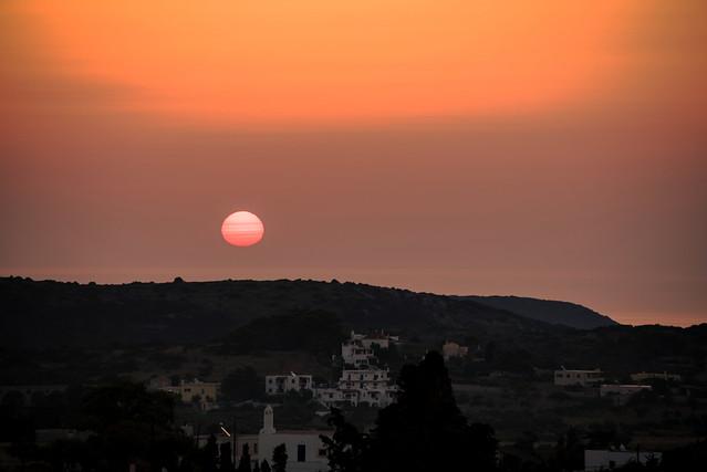 sunrise at Kythera
