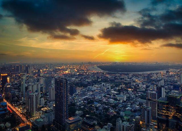Twilight in Bangkok