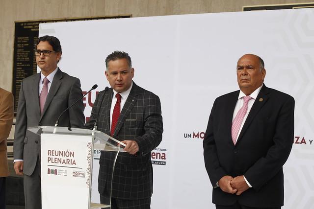 27/08/2021 Conferencia Prensa Santiago Nieto. Plenaria