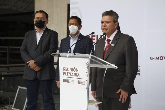 27/08/2021 Conferencia Prensa Diputados Chiapas